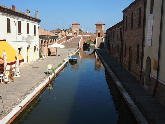 Valli di Comacchio - Servizi Turistici: canal view
