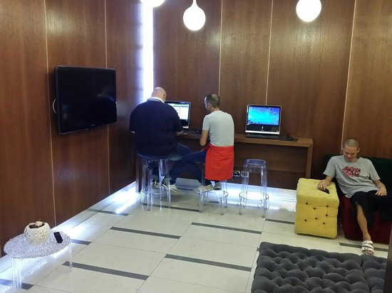Sporting Cologno Hotel: Internet point