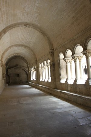 Abbaye de Montmajour : intérieur