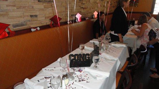 Original Michelangelo Pizzeria & Restaurant: Graduation Party 6.28.2014