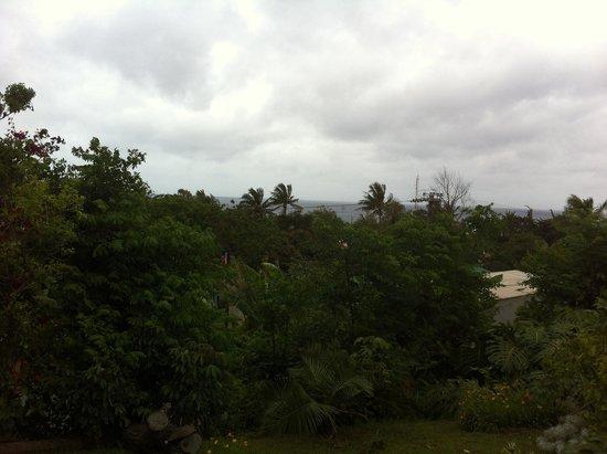 Hotel Rapa Nui: Vista desde la terraza del hotel.