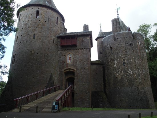 Castell Coch: The entrance to the Castle