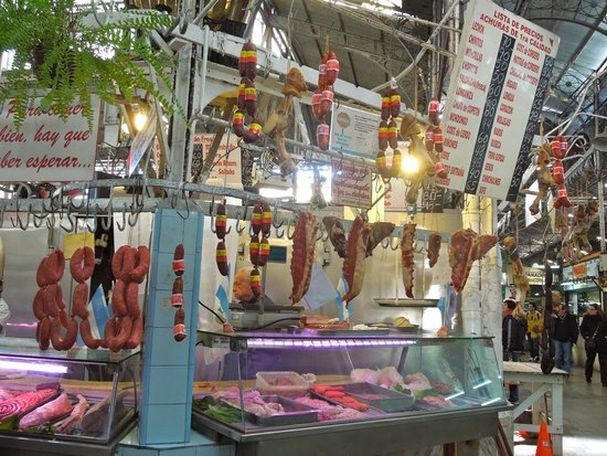 Feria De San Pedro Telmo: Feira San Telmo - pátios internos