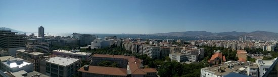DoubleTree by Hilton Izmir - Alsancak: view from the rooftop bar