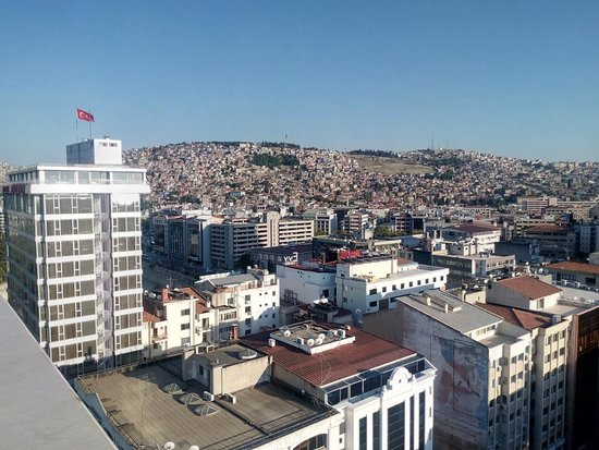 DoubleTree by Hilton Izmir - Alsancak: view from the rooftop