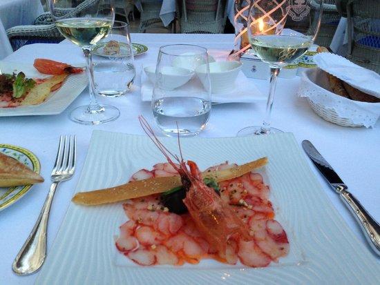 Goya Restaurant : Los camarones