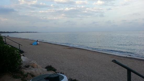 Camping La Torre del Sol: beach in evening
