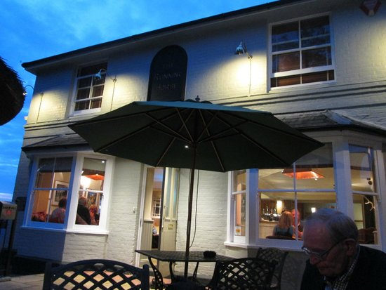 The Running Horse: Front of the pub