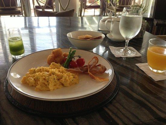 Amatara Wellness Resort: Petit-déjeuner