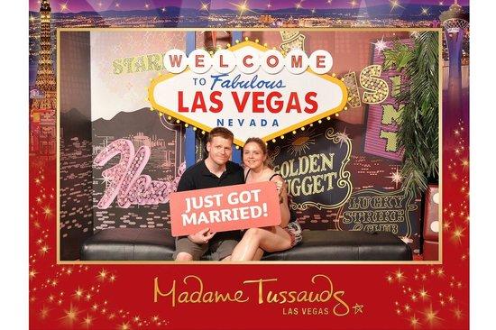 Madame Tussauds -  Las Vegas: Our pic