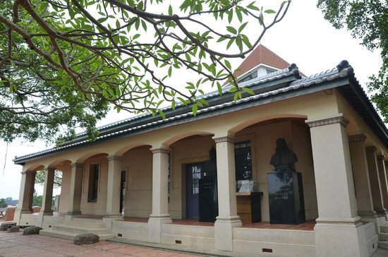 Anping Fort (Anping gubao): exhibition hall