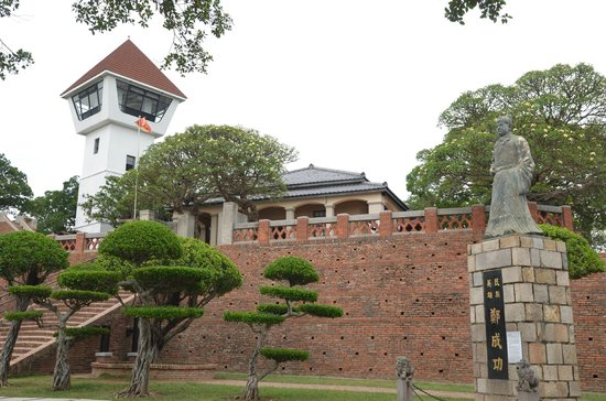 Anping Fort (Anping gubao): signature picture of Anping Fort