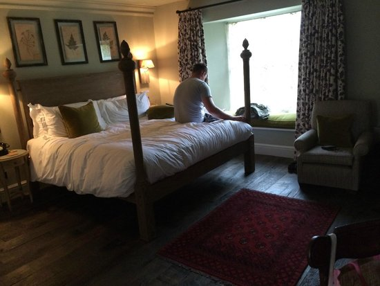 The Pig near Bath: Our room (no. 11) in the coach house