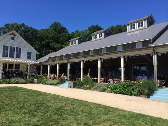 Pippin Hill Farm & Vineyards: Porch with a view.