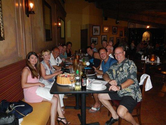 Sunscape Curacao Resort Spa & Casino: Dinner 1st night
