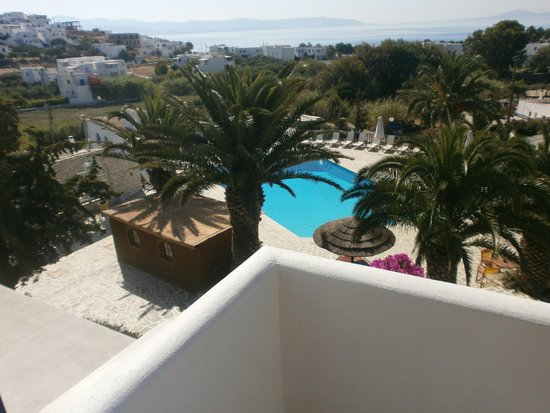 Albatross Hotel: vue balcon
