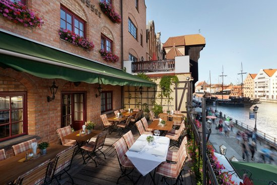 Goldwasser Restaurant: Our balcony with superb view
