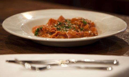 IL VICOLETTO: One of our best pasta dish , Ragu with pappardelle in Chianti Classico