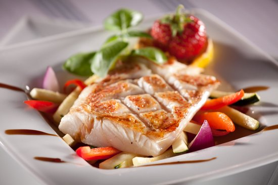 Goldwasser Restaurant: Local fish