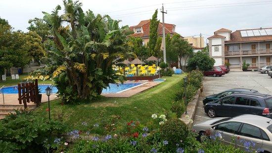 Aparthotel Villa Cabicastro: vista desde la terraza de la habitacion