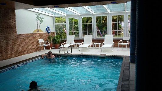 Aparthotel Villa Cabicastro: piscina interior