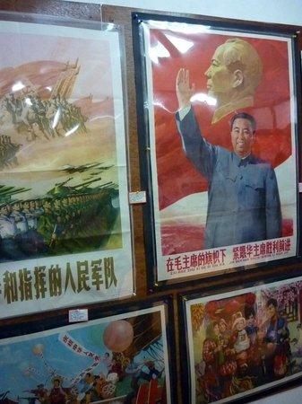 Shanghai Propaganda Poster Art Centre: Alguns dos posters do Museu