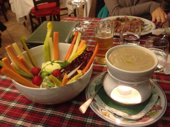 bagna caoda con verdure crude - Picture of Il Giacomaccio ...