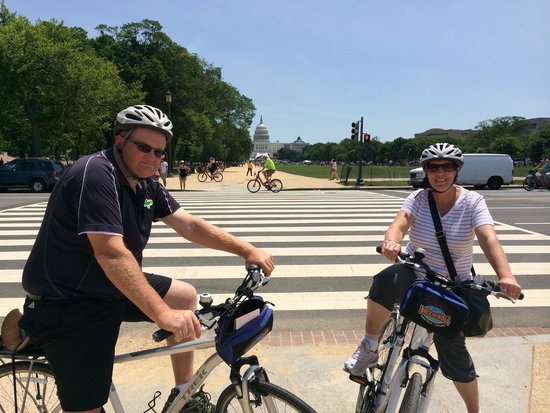 Bike and Roll DC : The start of our days cycling