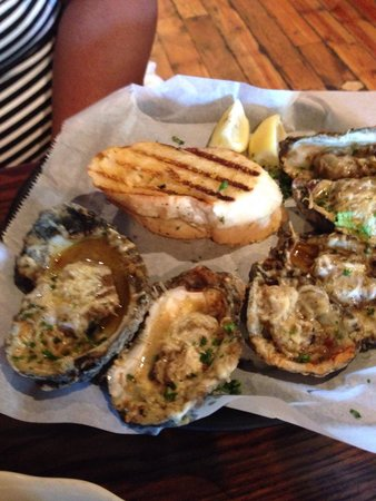 Parrain's Seafood Restaurant: Oyster love