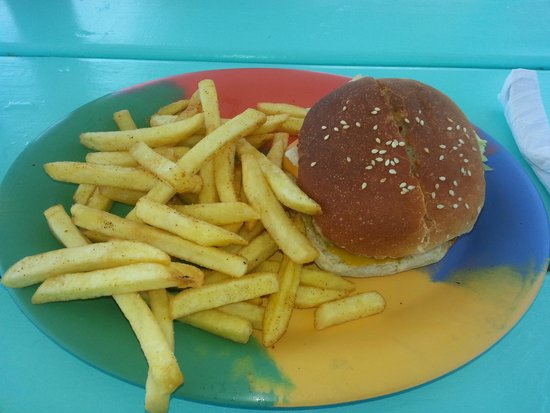 Graham's Place: yummy cheese burger