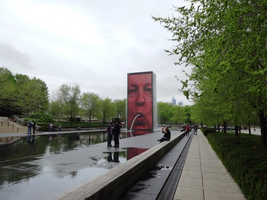 Millennium Park: The Crown Fountain