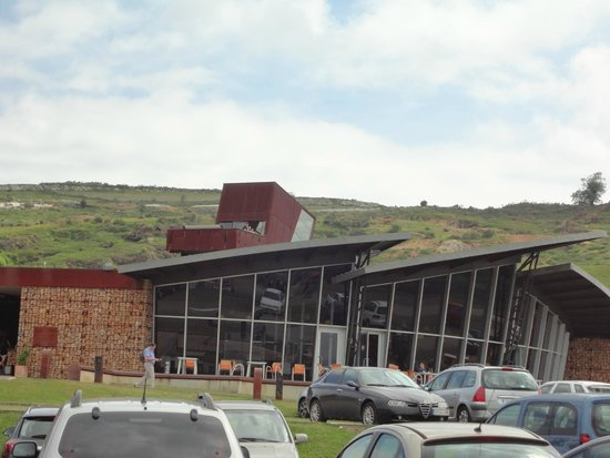 El Soplao : centro de llegada y taquillas