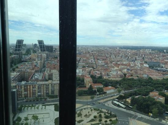 Eurostars Madrid Tower: vistas desde la habitacion