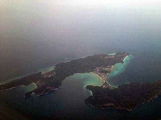 Searunner Speedboat Phuket: Phi-Phi sky view-