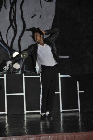 Hotel Playa Cayo Santa Maria: Spectacle Michael Jackson - WOW !