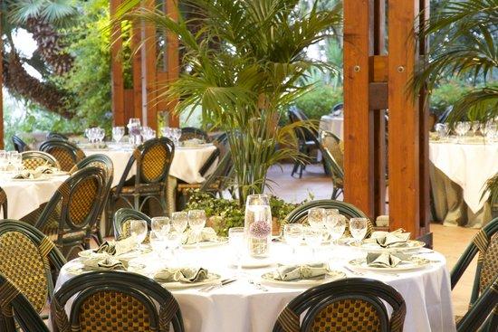 Colleverde Park Hotel: Ristorante estivo