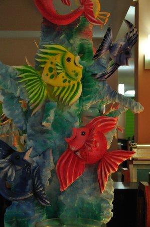Hotel Playa Cayo Santa Maria: Décoration du soir