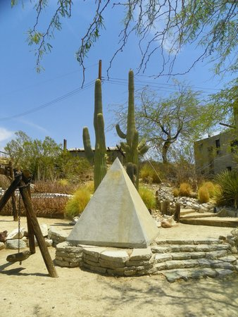 Cabot's Pueblo Museum: on the grounds of the pueblo