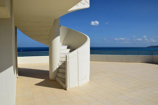 Elysium Resort & Spa : Vista terrazzo edificio principale
