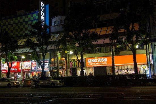 Genki sushi Kawasaki station front Odori