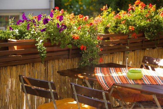 Hotel Am Markt: Terrasse