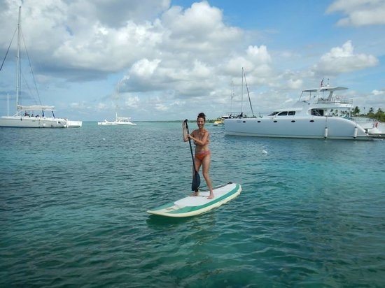 Bayahibe SUP (Stand Up Paddle Boarding): 1st time SUPing!