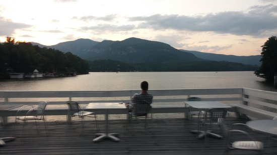 The Lodge on Lake Lure : best view on the lake! !!