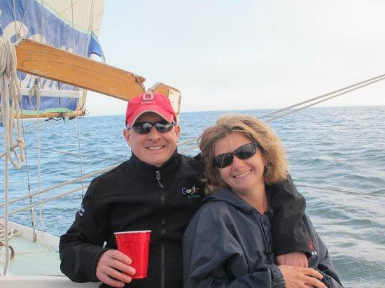 California Classic Sail : A beautiful night in Santa Cruz.