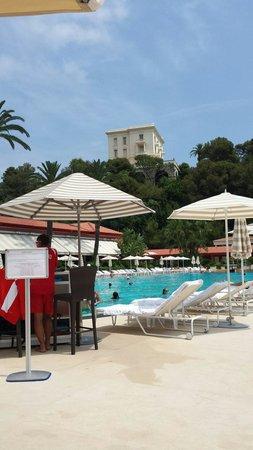 Hotel De Paris : Beach club