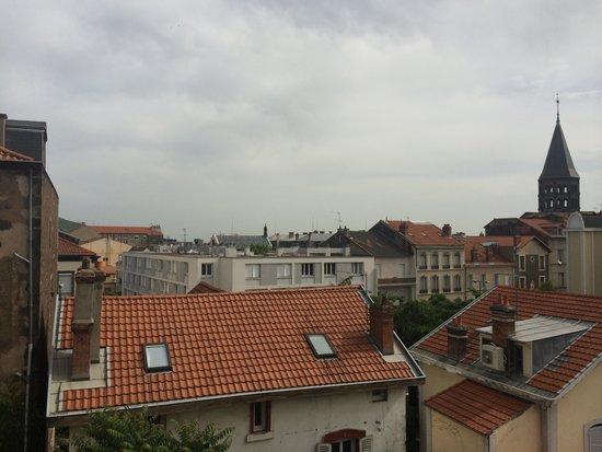 Hotel Albert Elisabeth : Courtyard view