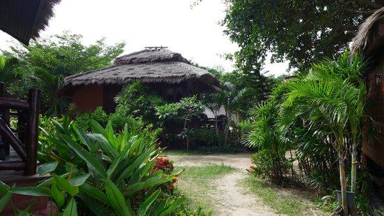 Palm Leaf Resort: Außenansicht Bungalow