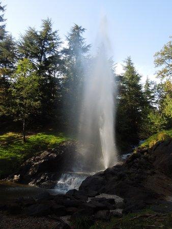 Saint Ferreol, Francia: le geyser