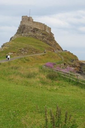 The Holy Island of Lindisfarne: Castle