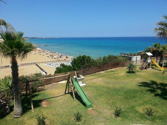 Hotel Club Helios: Panorama dalla terrazza